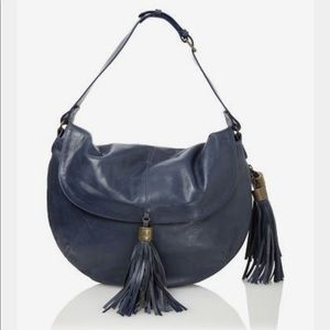 Andrew Marc Women's Argentina Hobo (Midnight Blue)